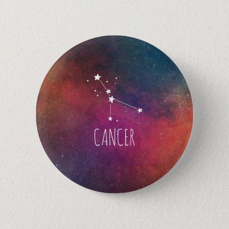 Cancer Astrology Button   Zazzle.com