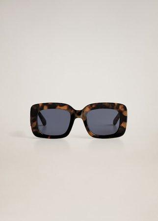 Tortoiseshell sunglasses - Women | Mango USA brown