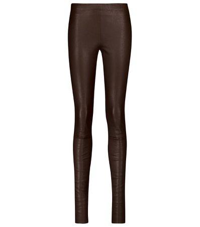 Stouls - Carolyn leather leggings   Mytheresa