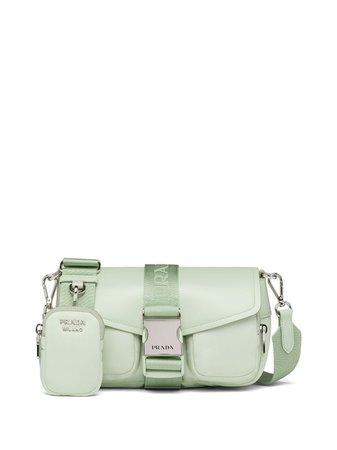 Prada Prada Pocket logo-strap Crossbody Bag - Farfetch