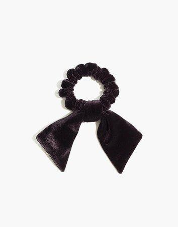 Bow Scrunchie black