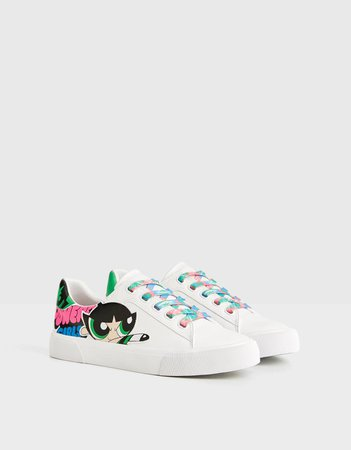 The Powerpuff Girls x Bershka sneakers - New - Bershka United States
