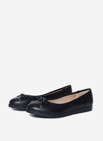 Black 'Perks' Comfort Pumps   Dorothy Perkins