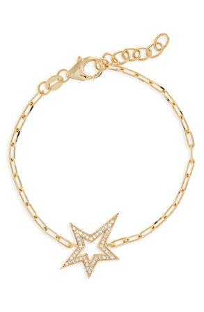 Adina's Jewels Star Cubic Zirconia Choker | Nordstrom