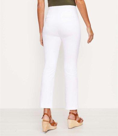 Side Zip Kick Crop Pants | LOFT