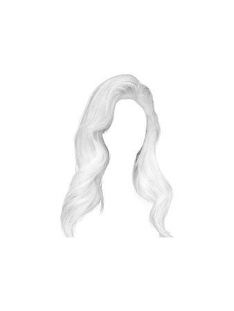 White Hair PNG