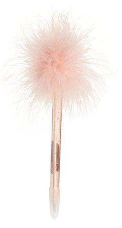 Fluffy pen