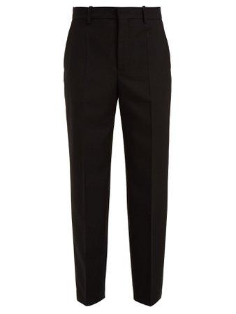 Pantalon en laine fuselé taille haute | Balenciaga | MATCHESFASHION.COM FR