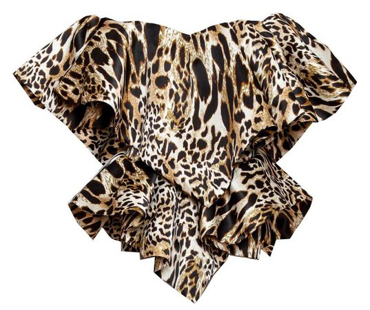 Alexandre Vauthier panther top