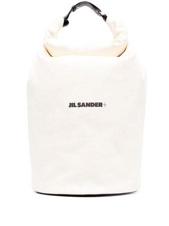 Jil Sander + logo-print Backpack - Farfetch