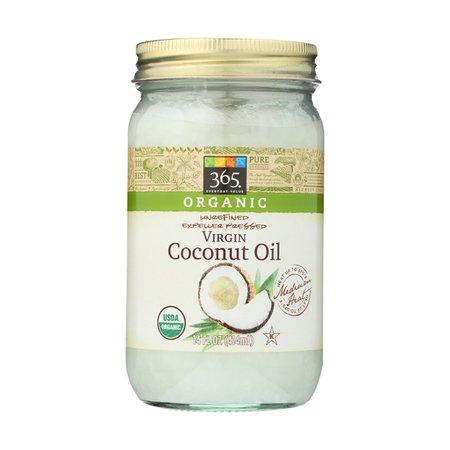 Unrefined Virgin Coconut Oil, Expeller Pressed, 14 Fl. Oz., 14 FL OZ, 365 Everyday Value®   Whole Foods Market