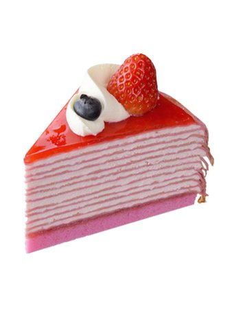 strawberry Mille Crepe