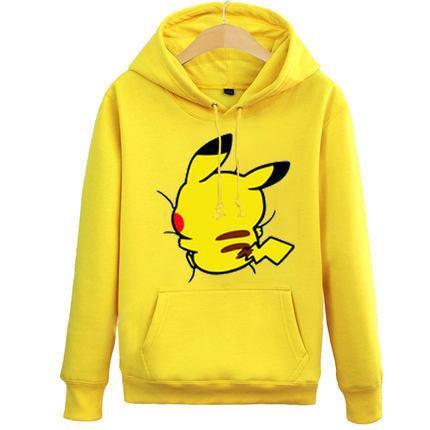 [Pokemon] Hugging Pikachu Hoodie Sweater