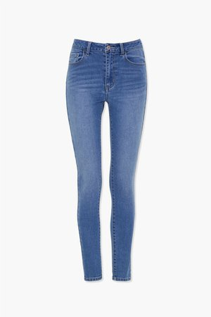 Mid-Rise Skinny Jeans | Forever 21