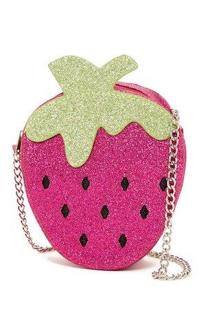 CAPELLI OF NEW YORK | Glitter Strawberry Shoulder Bag | Nordstrom Rack