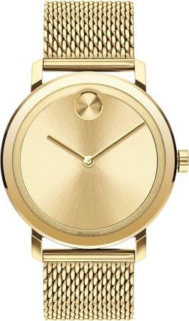 Bold Evolution Mesh Bracelet Watch, 40mm