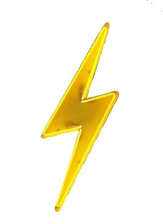 yellow lightning bolt png filler