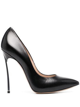 Casadei pointed leather pumps - FARFETCH