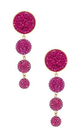 LPA Fae Earring in Pink | REVOLVE