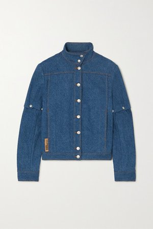 COURREGES | Convertible denim jacket | NET-A-PORTER.COM