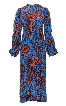 Indus Valley Printed Silk Maxi Dress By Johanna Ortiz   Moda Operandi