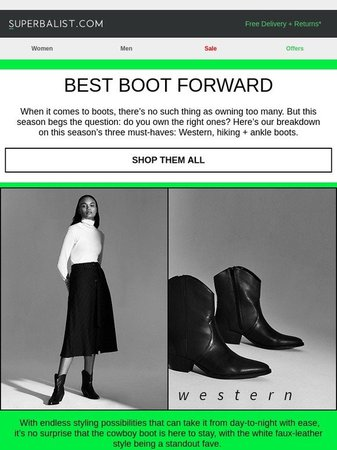 Boot Text
