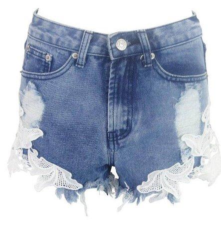 Summer Women's Ripped Pocket Vintage Denim Shorts | RebelsMarket