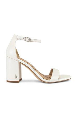 Sam Edelman Daniella Sandal in Bright White   REVOLVE