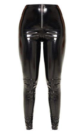 BlackVinyl Trousers