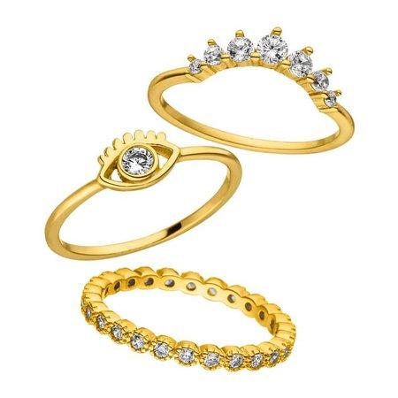 PURELEI Ring 'Honolulu Sun-Set' Gold
