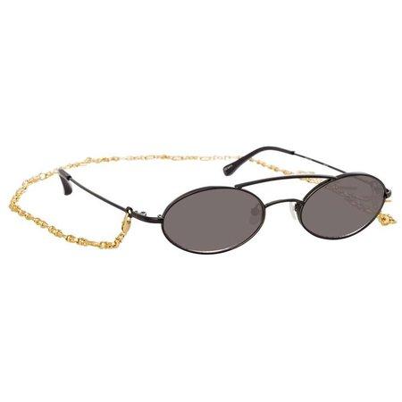 Alessandra Rich 2 C4 Oval Sunglasses – Linda Farrow