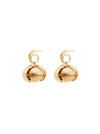 Panconesi Gold Vermeil Opal Earrings - Farfetch