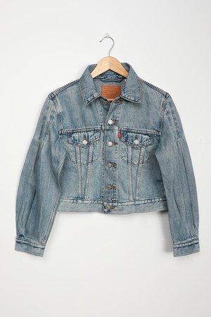 Levi's Full Sleeve Trucker - Light Wash Denim Jacket - Jacket