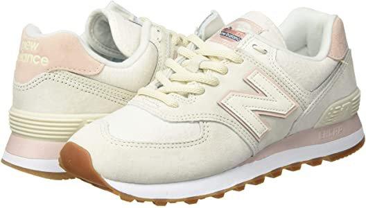 Amazon.com | New Balance Women's 574 V2 Sneaker, Turtledove/Smoked Salt, 5 M US | Fashion Sneakers