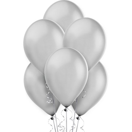 silver balloons - Google Search