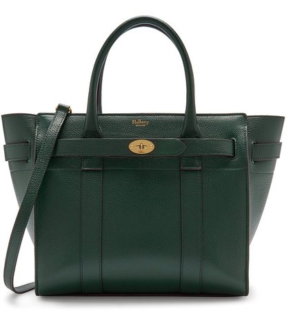 Small Zip Bayswater Classic Leather Tote
