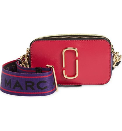 Marc Jacobs The Snapshot Leather Crossbody Bag | Nordstrom