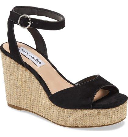 Steve Madden Binx Platform Wedge Sandal (Women) | Nordstrom