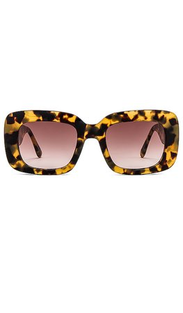 my my my Andreya Sunglasses in Caramel | REVOLVE
