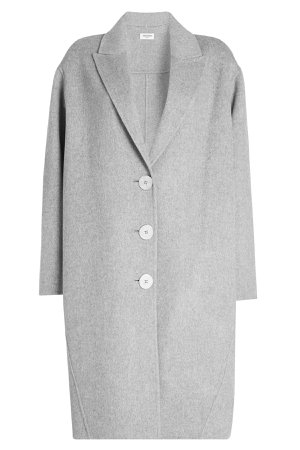 Wool Coat with Cashmere Gr. S
