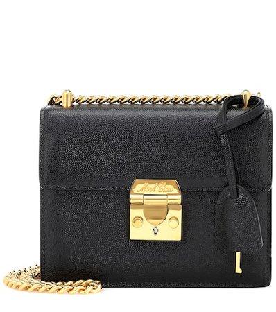 Zelda leather shoulder bag