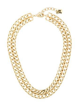 Rosantica double chain-link necklace