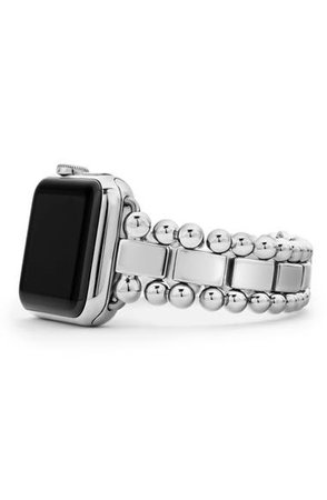 LAGOS Smart Caviar Stainless Steel Link Band for Apple Watch® | Nordstrom
