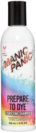 •• Manic Panic - Hair Shampoo •• Prepare To Dye ••