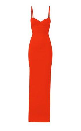 Knit Bustier Gown By Brandon Maxwell | Moda Operandi