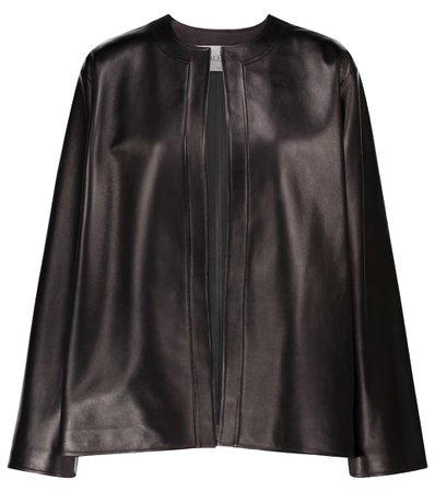 Valentino / Garavani - Valentino leather jacket   Mytheresa