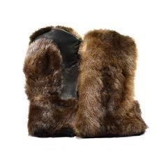 fur mittens - Google Search