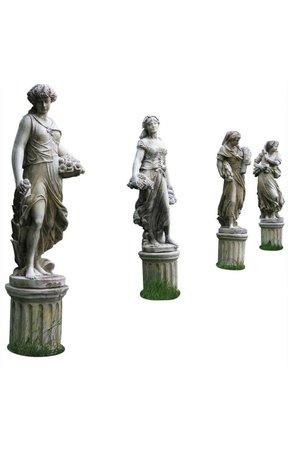 Ancient antique statues
