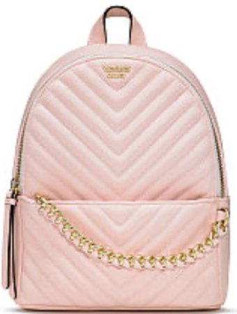 Light Pink Mini Backpack