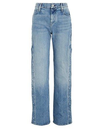 RtA Michael Snap Straight-Leg Jeans | INTERMIX®